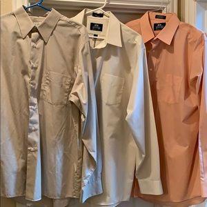 Bundle Men's dress shirts